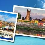 Kuvia irlannista: grattan bridge, shannon river, cork satama
